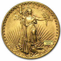 $20 SAINT GAUDENS GOLD DOUBLE EAGLE AU  RANDOM YEAR    SKU 1122