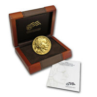2008 W 1/10 OZ GOLD BUFFALO BU  W/BOX & COA    SKU 57650