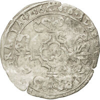 SPANISH NETHERLANDS 3 PATARDS 1616 BRUGES KM 21 VF30 35 SILVER 1.88