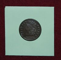 1811 HALF CENT C 1. 4 STAR RIM BREAK  NICE HIGHER GRADE