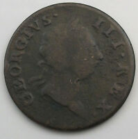 IRELAND 1/2 PENNY 1766 GP 417