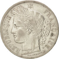 [76880] FRANCE CRS 5 FRANCS 1849 PARIS KM:761.1 EF40 45,