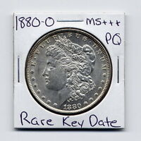 1880 O MORGAN DOLLAR  KEY DATE US MINT SILVER COIN PQ UNC MS