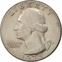 [500527] TATS UNIS WASHINGTON QUARTER 1978 DENVER TTB KM:A164A