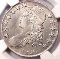 1826 CAPPED BUST HALF DOLLAR 50C   NGC XF DETAILS EF    CERTIFIED COIN