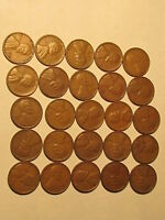 ROLL 1936 S LINCOLN WHEAT CENTS PENNY IN GOOD OR BETTER CONDITION 50 COINS