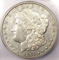1893-O MORGAN SILVER DOLLAR $1 - CERTIFIED ICG EXTRA FINE 45 EF45 PQ -  DATE