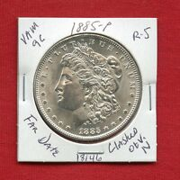 1885 VAM-9C R5 BU UNC MORGAN SILVER DOLLAR 18146 MS US MINT  KEY ESTATE