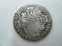 SCOTTISH SILVER QUARTER DOLLAR 1676 CHARLES II.