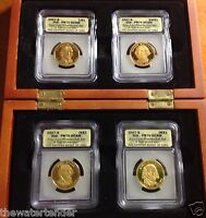 492 FIRST STRIKE COIN SET 2007-S $1 PRESIDENTIAL DOLLAR PROOF ICG PR70 DCAM