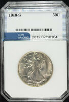 1940-S WALKING LIBERTY HALF DOLLAR, SUPERB GEM BU