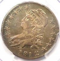 1812/1 CAPPED BUST HALF DOLLAR 50C O 102A   PCGS XF DETAILS    OVERDATE COIN