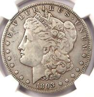 1893-O MORGAN SILVER DOLLAR $1 - NGC VF25 PQ -  KEY DATE - CERTIFIED COIN