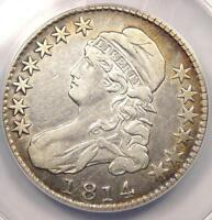 1814 CAPPED BUST HALF DOLLAR 50C O 103   ANACS XF40 DETAILS EF40    COIN