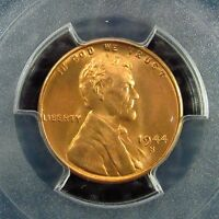 1944 S    LINCOLN CENT     PCGS    CERTIFIED      MS 66  RED       32079918  6J