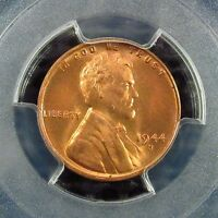 1944 S    LINCOLN CENT     PCGS    CERTIFIED      MS 66  RED       32079919  6K