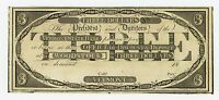 1800'S $3 THE VERMONT STATE BANK   WOODSTOCK VERMONT NOTE AU/UNC