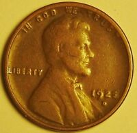 1925 D  LINCOLN WHEAT CENT, CENT,  AD-36