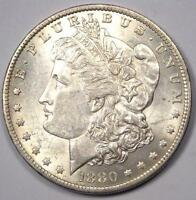 1880 O MORGAN SILVER DOLLAR $1. EXCELLENT CONDITION   NICE LUSTER    MICRO O