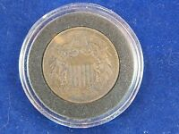 1869 WE TWO CENT PIECE FROM ESTATE