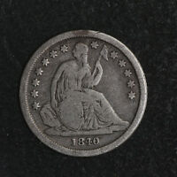 1840 P SEATED LIBERTY DIME GREAT DEALS FROM THE TECC BARGAIN BIN