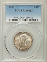 1930 STANDING LIBERTY QUARTER PCGS MS 66 FH