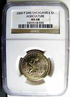 2009 P SMS SACAGAWEA AGRICULTURE MS 68