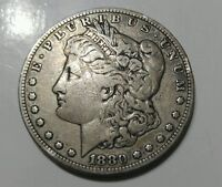US COINS 1880  O MORGAN SILVER DOLLAR IN AU TO MS CONDITION A BEAUTIFUL COIN