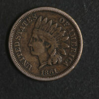 1861 INDIAN CENT GREAT DEALS FROM THE TECC BARGAIN BIN