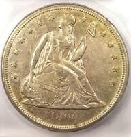 1860 O SEATED LIBERTY SILVER DOLLAR $1   CERTIFIED ICG MS60 UNC   $2,090 VALUE