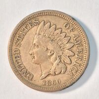 INDIAN HEAD CENT PENNY 1860 IB7