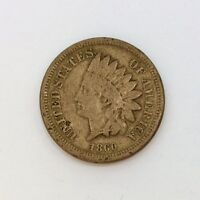 INDIAN HEAD CENT PENNY 1860 B39