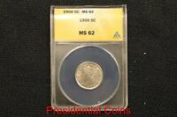 1903 MINT STATE 64 ANACS LIBERTY HEAD NICKEL BEAUTIFUL MINT STATE COIN