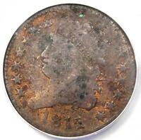 1811 CLASSIC HEAD HALF CENT   ANACS F12 DETAILS      $1,500 VALUE IN F12