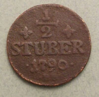GERMAN STATES JULICH 1/2 STUBER 1790  DW003