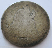 1888 SILVER SEATED LIBERTY DIME COLLECTOR COIN TEN CENTS  125D