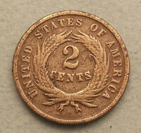 UNITED STATES 2 CENTS 1865 SHIELD   FW 503