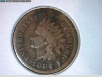 1884                         INDIAN HEAD CENTS