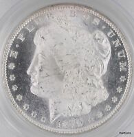 1879-S MORGAN SILVER DOLLAR $1 PCGS MINT STATE 65 PL PROOFLIKE OLD GREEN LABEL
