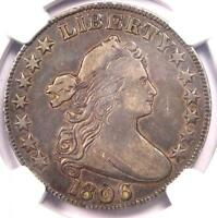 1806 DRAPED BUST HALF DOLLAR 50C - NGC VF DETAILS -  CERTIFIED COIN