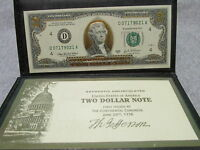TWO DOLLAR NOTE FIRST ISSUE 1776