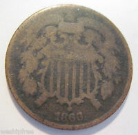 1866 TWO CENT  910G