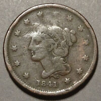 1841   ONE CENT   UNITED STATES   THIS COIN FOR YOUR COLLECTION ?