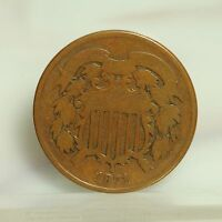 1871 TWO CENT PIECE  GOOD 2130