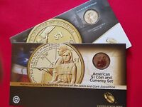 2014 D 2015 W NATIVE AMERICAN ENHANCED COIN AND CURRENCY SETS