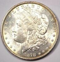 1878 7/8 TAILFEATHERS MORGAN SILVER DOLLAR $1 7/8TF. EXCELLENT CONDITION