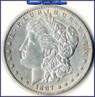 1887-S MORGAN $$   DATE WITH UNCIRCULATED DETAIL  SPECIAL BUY PRICE $47.00