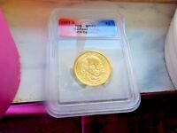 2007 - D ICG CERTIFIED MINT STATE 67 MADISON DOLLAR