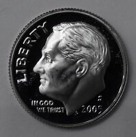 2005 GEM PROOF PF ROOSEVELT DIME UNC UNCIRCULATED US COIN FREE SHIP