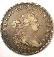 1799 DRAPED BUST SILVER DOLLAR $1   VF/XF DETAILS    TYPE COIN